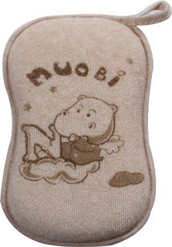 诺比--彩棉沐浴擦