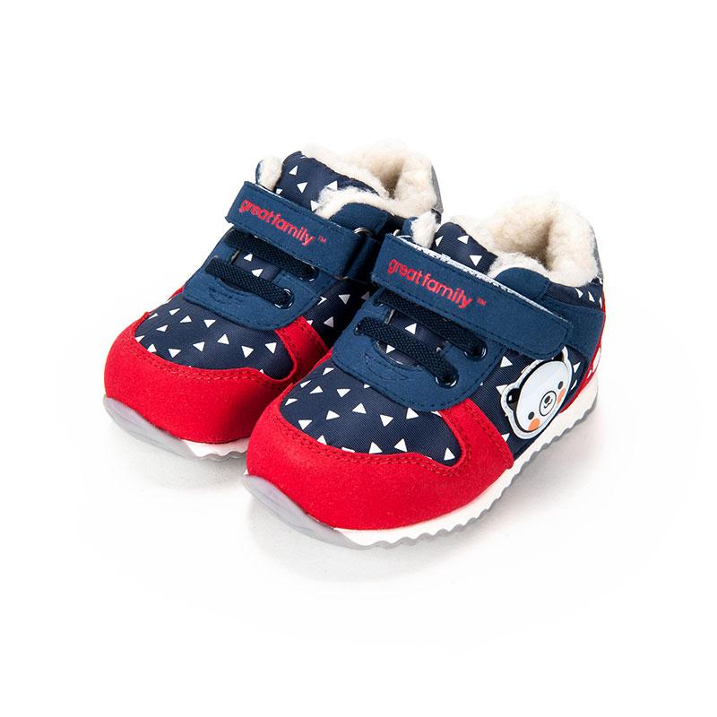 歌瑞家男婴运动宝宝鞋蓝