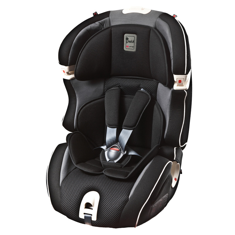 Kiwy--SLF123无敌浩克PLUS典雅黑意大利儿童汽车安全座椅9个月-12岁
