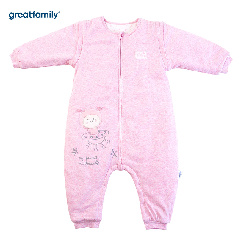 歌瑞家(Greatfamily)A类花纱分腿睡袋粉色40*85cm