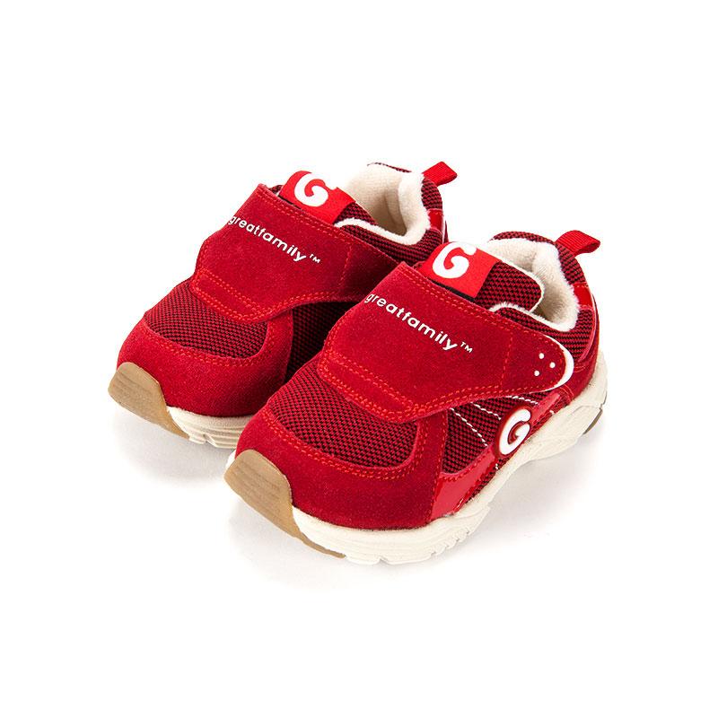 歌瑞家儿童机能鞋红