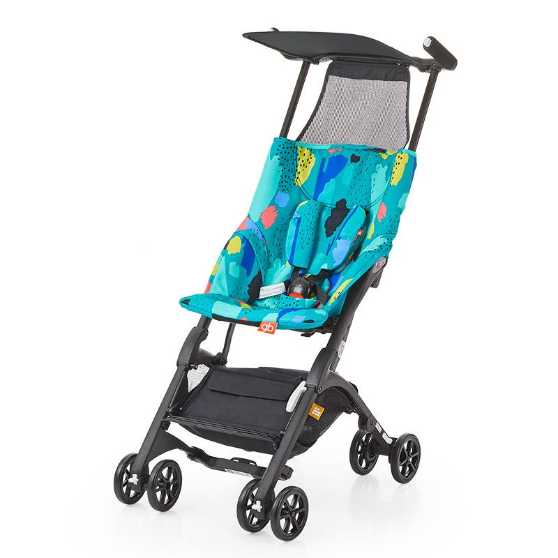 好孩子POCKIT 2-A-Q222GB型便携式婴儿口袋车 绿