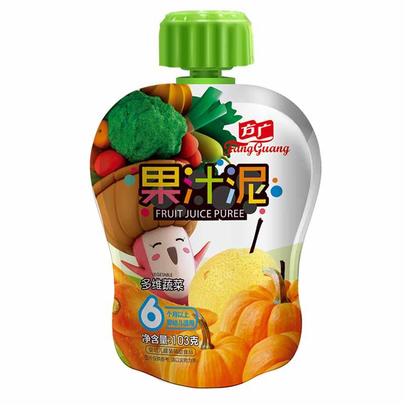 方广多维蔬菜果汁泥袋装103g6个月以上