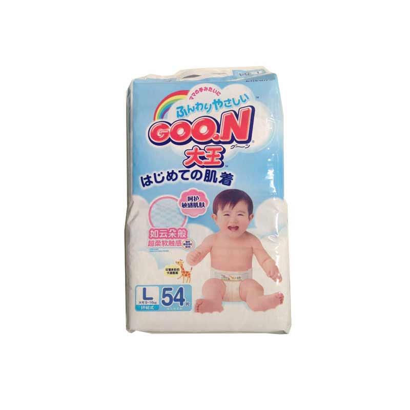 日本GOO.N大王维E系列纸尿裤L54片中包