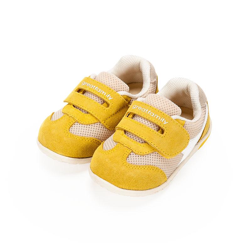 歌瑞家男婴机能鞋黄