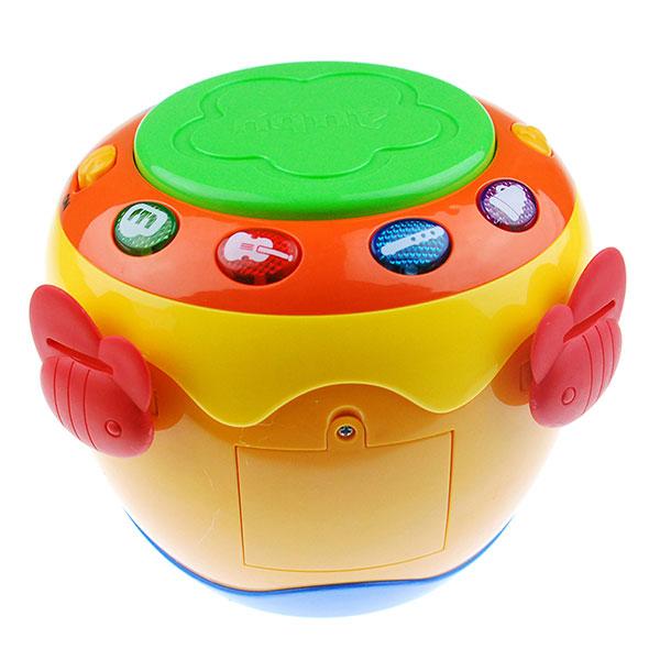 澳贝(Auby)宝宝音乐拍拍鼓发光欢乐手拍鼓玩具