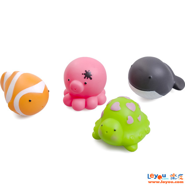 亲亲我海洋喷水玩具戏水玩具洗澡玩具