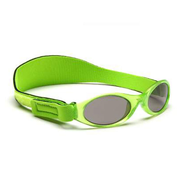 澳大利亚Banz--探索系列防紫外线环绕式幼童太阳眼镜(49-57CM)KBN004绿混码