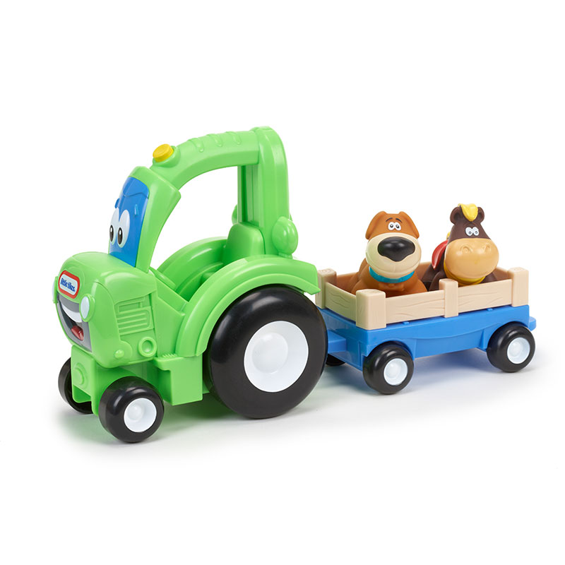 Little Tikes 小泰克-音乐运输小拖车