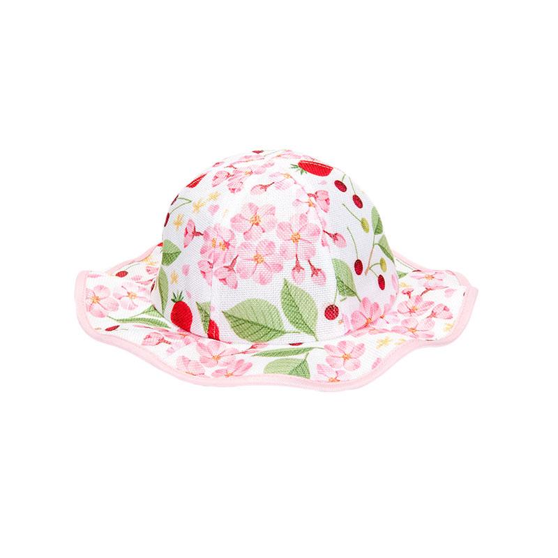 歌瑞凯儿女童花朵公主帽GB161-052A花色48cm顶
