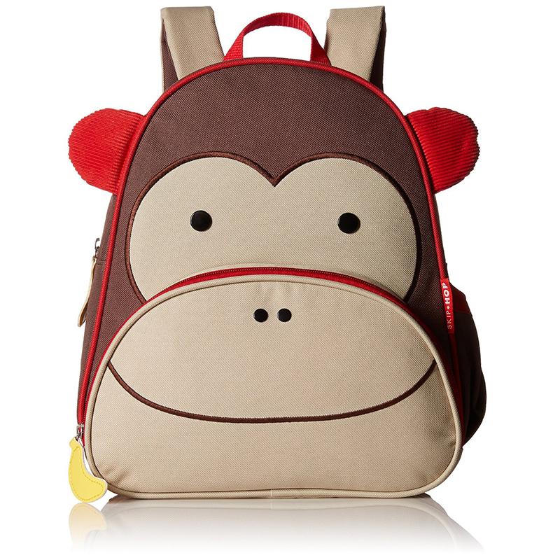 【美国直邮】美国SKIPHOP可爱动物园小童背包-猴子