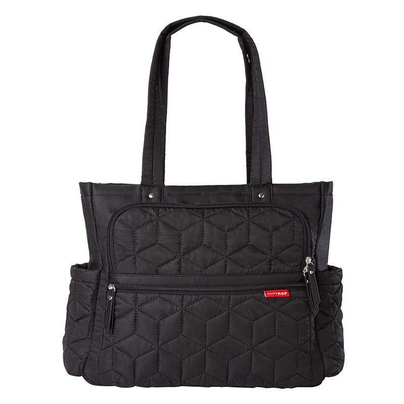 美国 SKIP HOP Forma随身行随身行尿布手提包(黑色)Skip Hop Forma Diaper Bag,Black