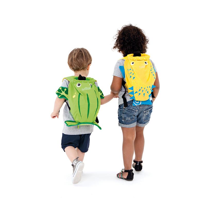 【乐海淘】英国Trunki防水背包-细码(2-6岁)-大青蛙香港直邮