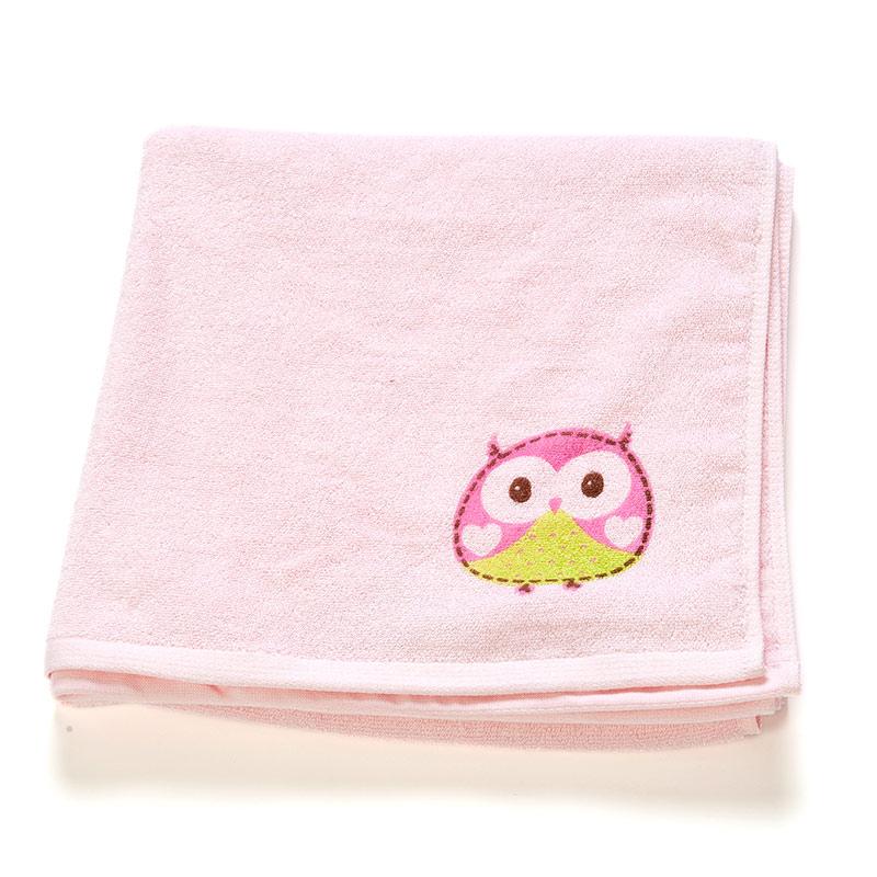 歌瑞贝儿(新)--竹纤维印花浴巾GB140-050CU粉混码