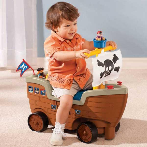 小泰克(Littletikes)游戏车海盗船送礼佳品