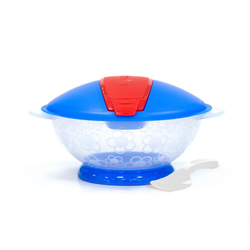 BOBO乐儿宝盖顶盖便携碗(9月以上)1个/盒颜色随机
