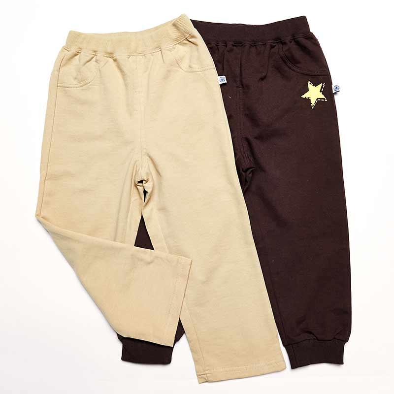 歌瑞凯儿-Great-Color-男童简洁针织长裤-两条装100码