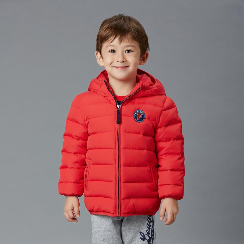 歌瑞凯儿A类男童炫彩超暖羽绒服一款三色