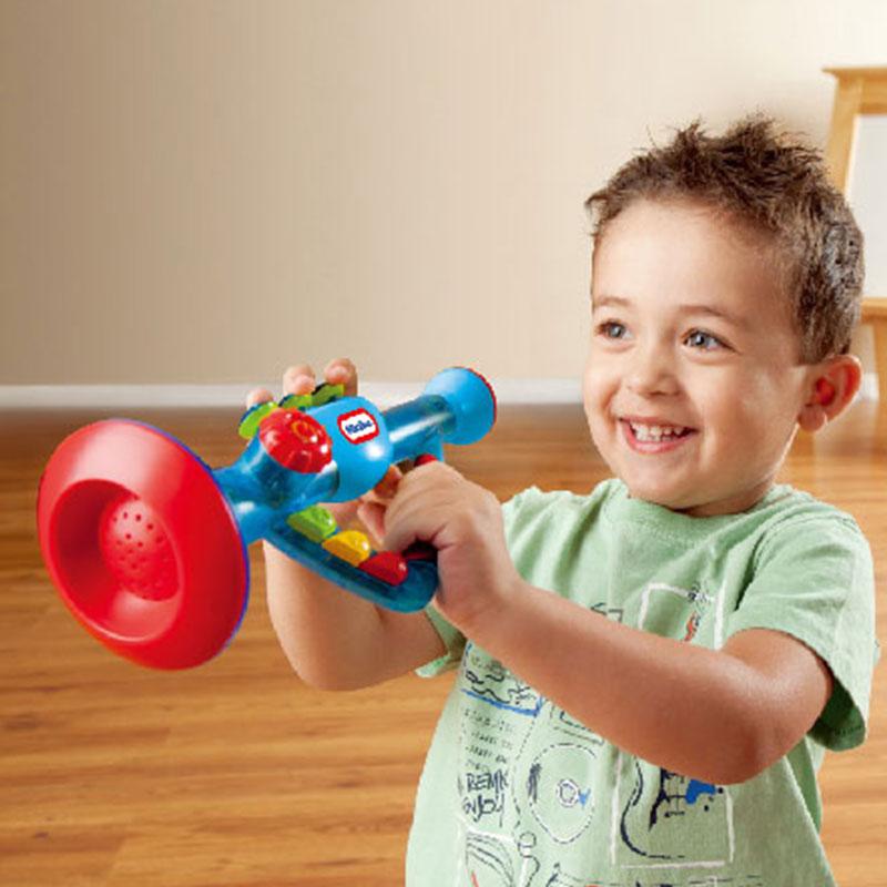 小泰克(Littletikes)敲击乐喇叭培养乐感