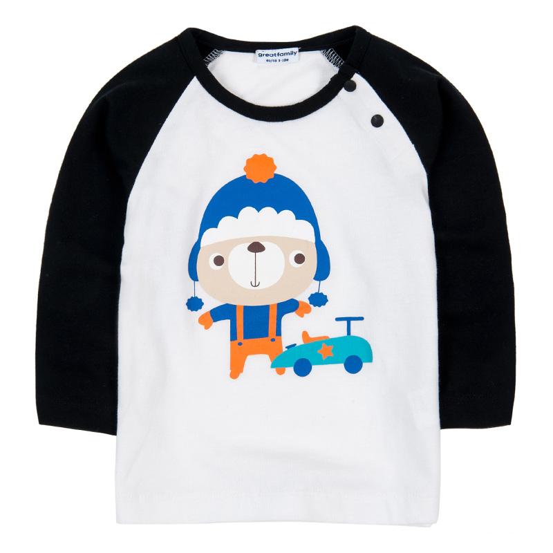 歌瑞家A类男宝宝卡通T恤2色可选