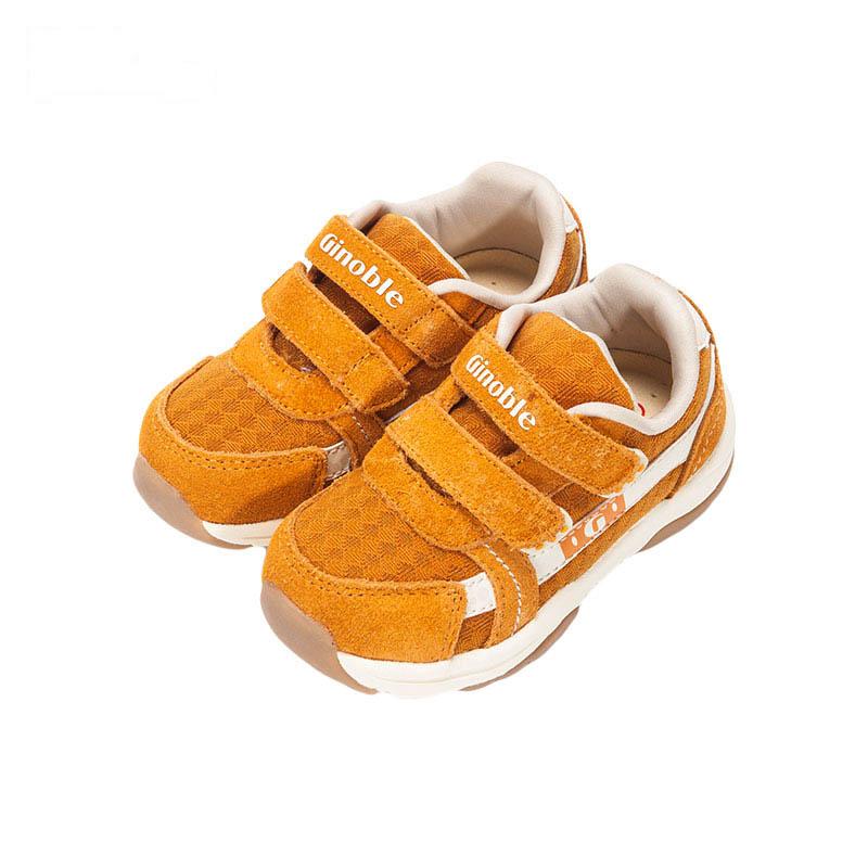 基诺浦TXG2038机能鞋黄13.5cm双