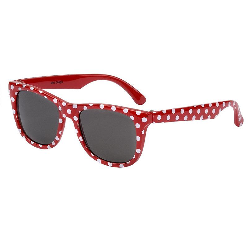 澳洲Frankie Ray婴幼儿防紫外线太阳镜(0-18个月)红色圆点 抗紫外线保护视力 Frankie Ray sunglasses,Red Spot