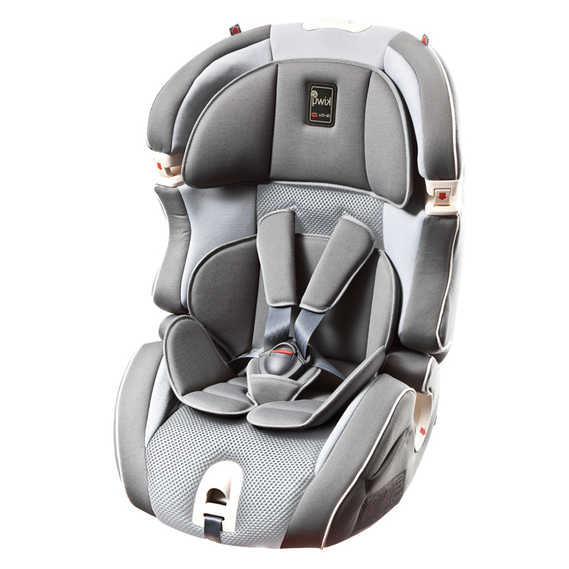 kiwy凯威意大利原装进口9个月-12岁安全座椅SLF123 梦幻灰