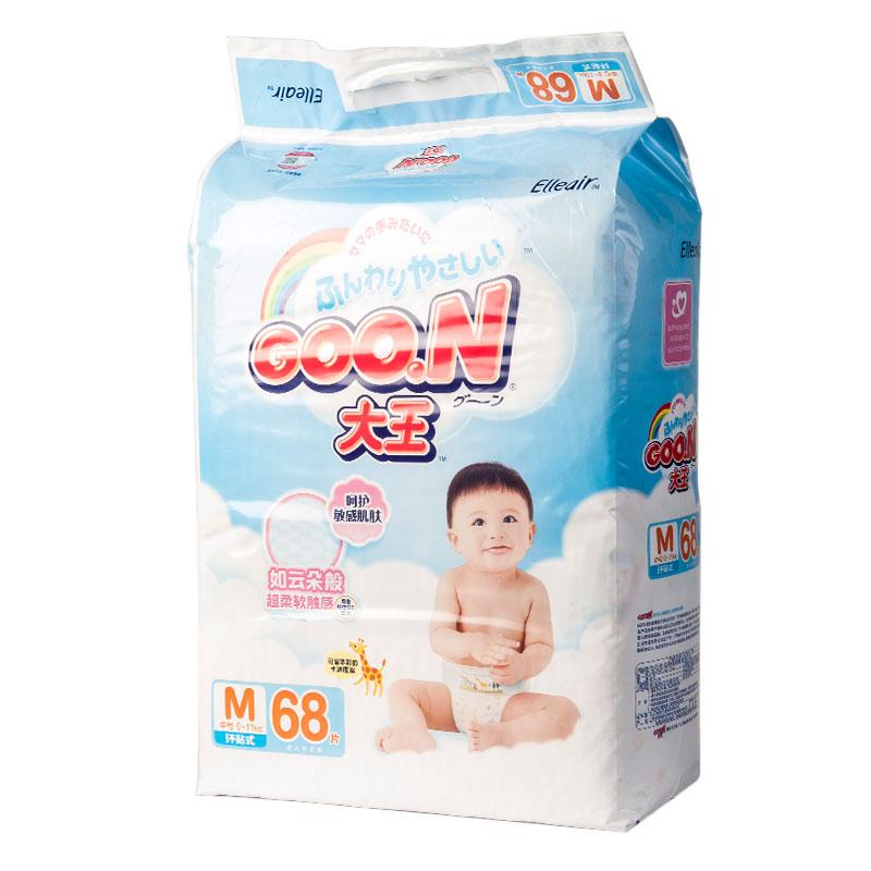 大王维E系列纸尿裤M68片包