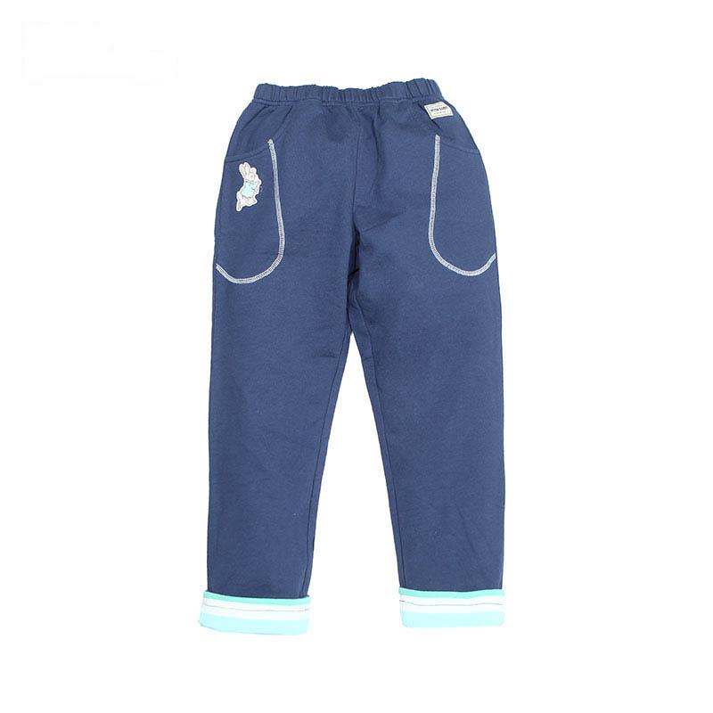 歌瑞家(比得兔)A类男童藏青色针织长裤