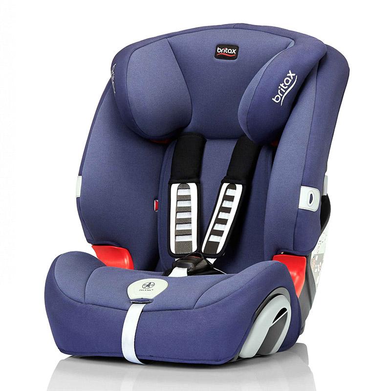 宝得适Britax-超级百变王白金版儿童安全座椅皇室蓝9-36kg