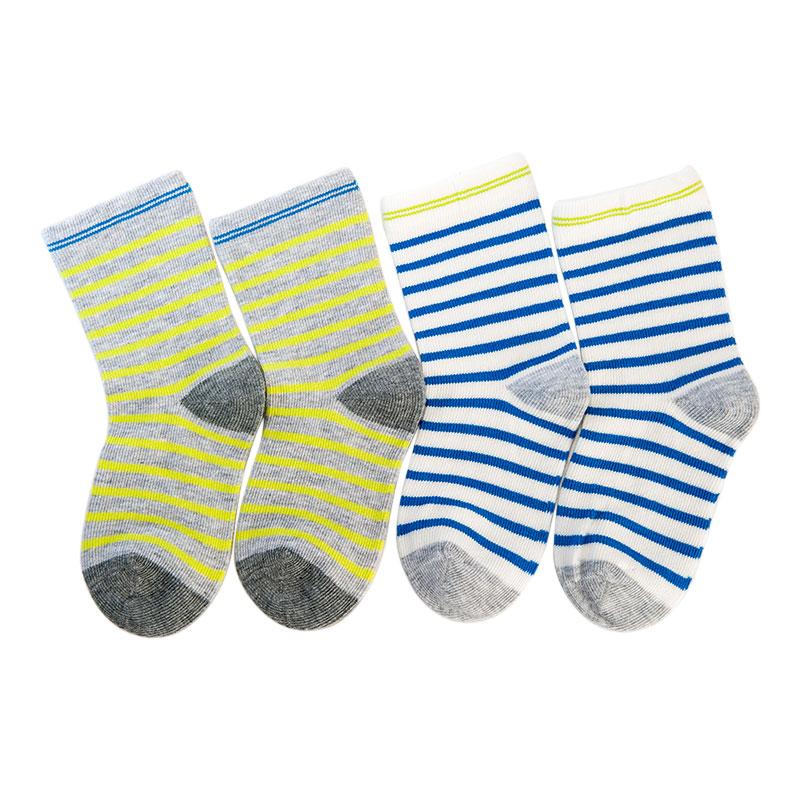 歌瑞家greatfamily纯色系列男童中袜(2双装)