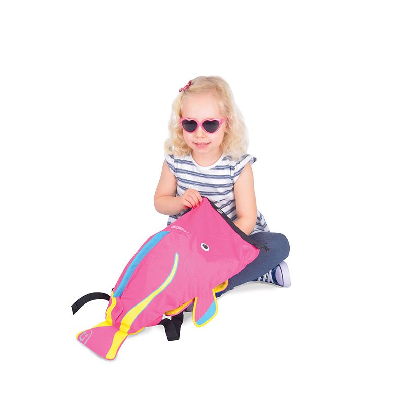 【乐海淘】英国Trunki防水背包-细码(2-6岁)-刺尾鲷鱼香港直邮