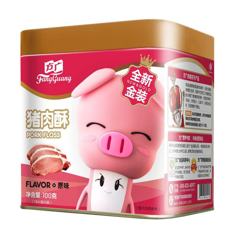 方广至猪肉酥原味6个月以上100g