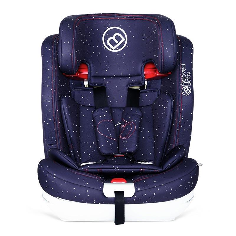 belovedbaby贝适宝智博士儿童汽车安全座椅星际蓝车载儿童座椅9-36kg