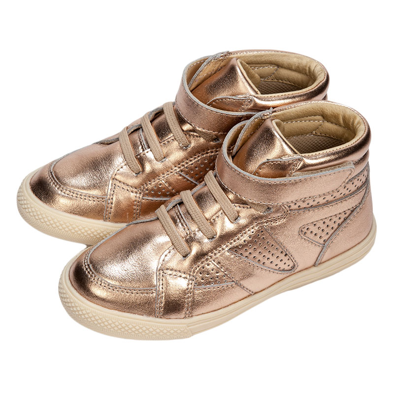 歌瑞凯儿女婴时尚皮鞋GK153-008SH粉16cm双