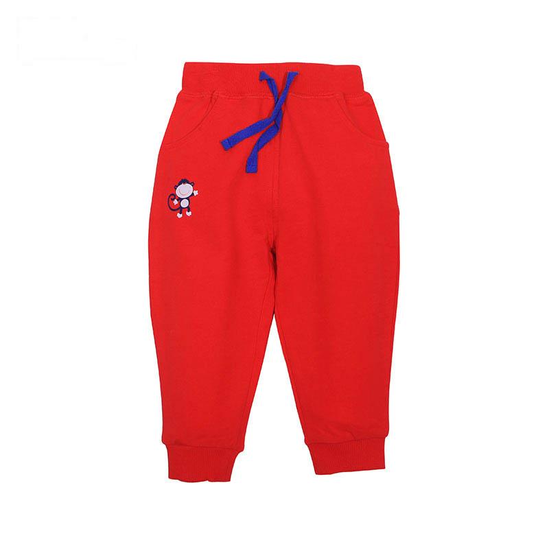 歌瑞家A类男女宝宝小猴子卫裤3色可选