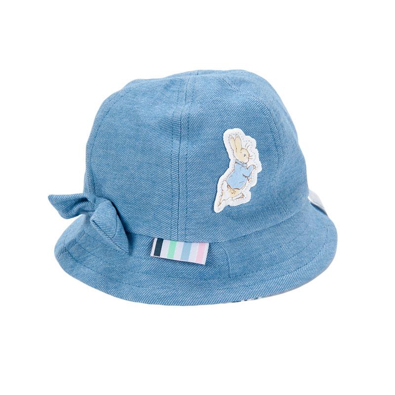 歌瑞凯儿女童盆帽GB161-048A蓝50cm顶
