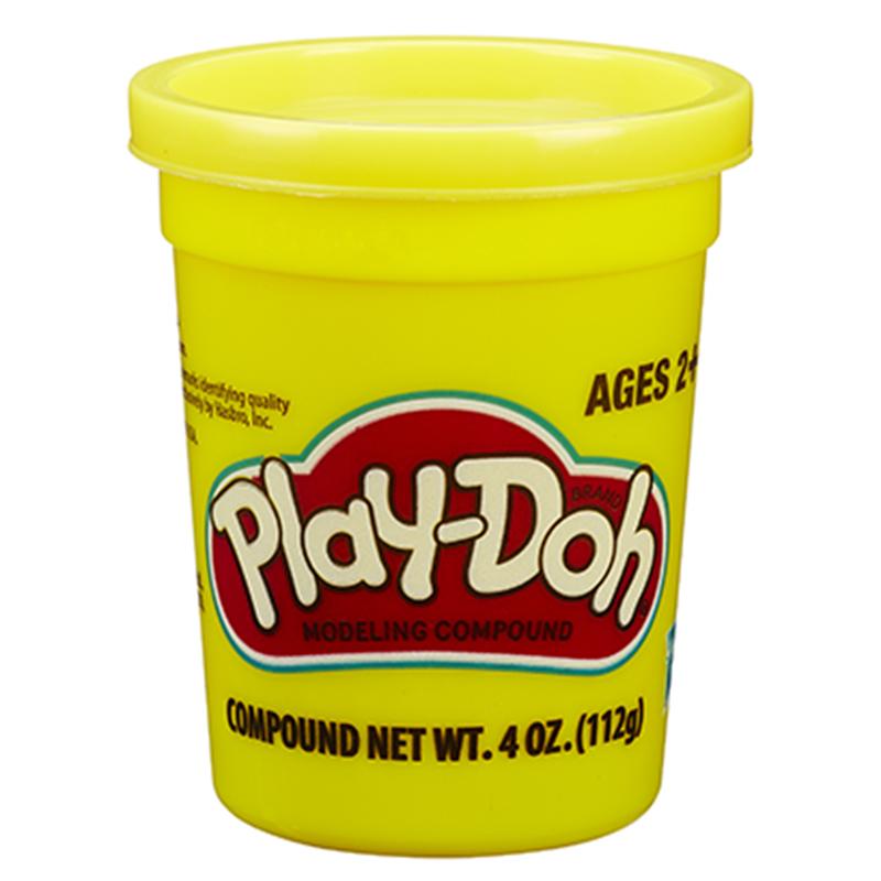 孩之宝(Hasbro)培乐多单杯装新版-黄色