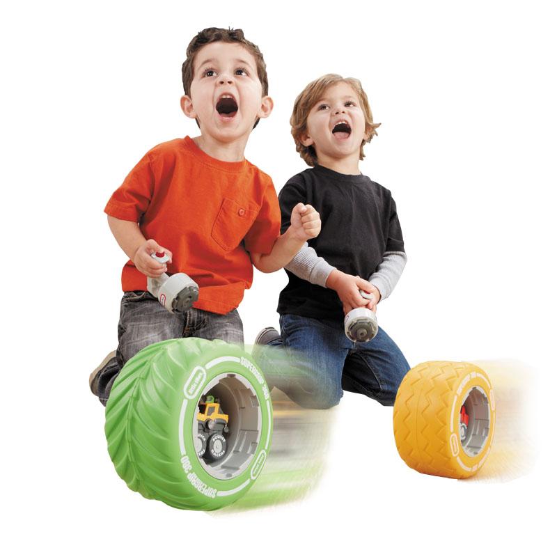 小泰克(Littletikes)疯狂弹跳车轮(款式随机)