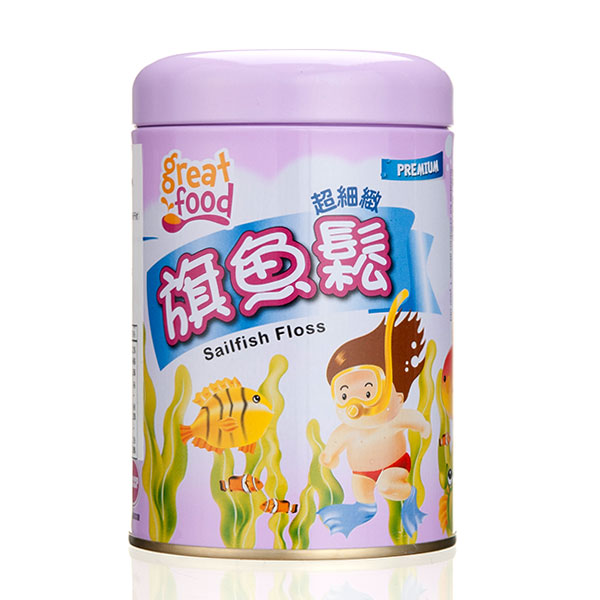 乐健儿GreatFood深海旗鱼松(1岁以上)160g/罐