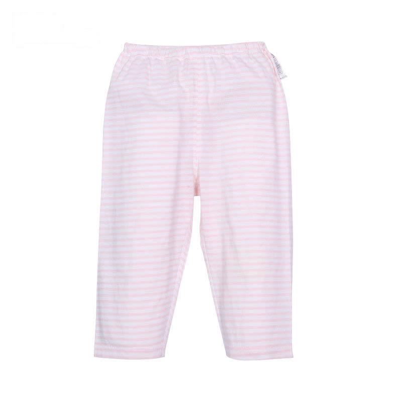 歌瑞贝儿A类女宝宝粉色单面布开闭裆裤