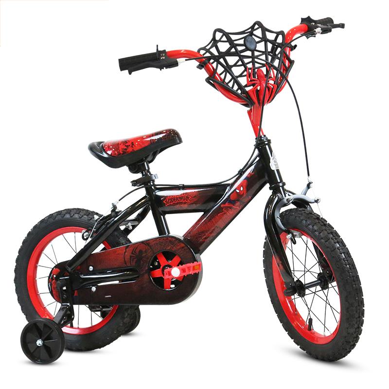 贝乐(BAILEY)终极蜘蛛侠儿童自行车12寸