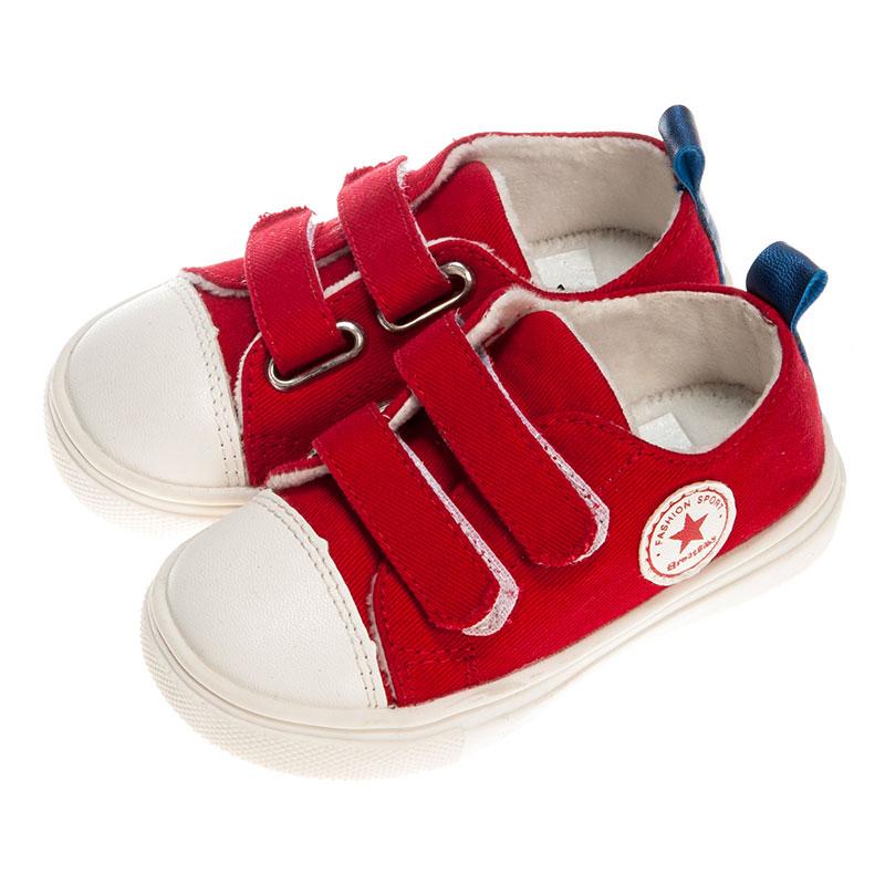 歌瑞贝儿女婴帆布鞋GB153-020SH红14cm双