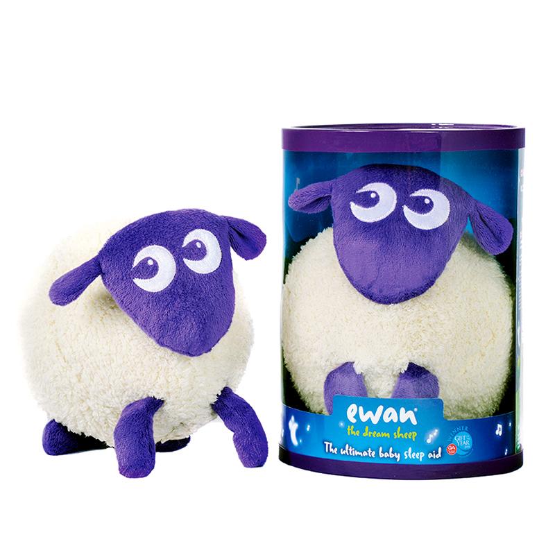 英国EWAN甜梦绵羊声光玩具还原胎中宝宝听到的声音