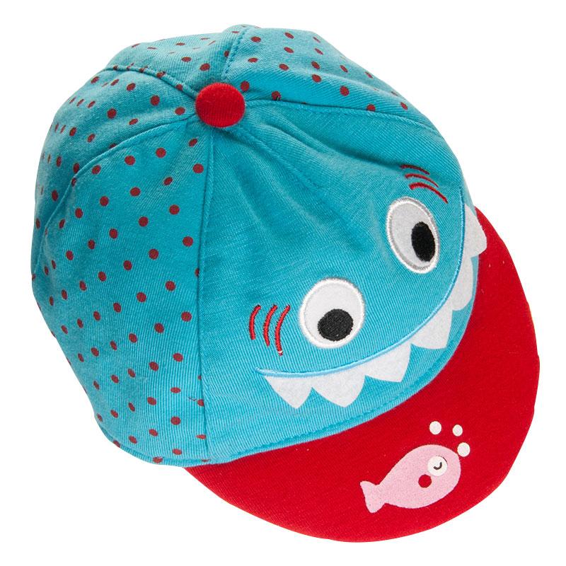 歌瑞凯儿可爱鲨鱼棒球帽 44