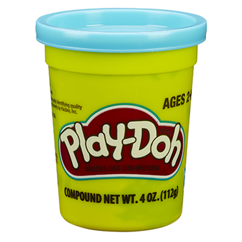 孩之宝(Hasbro)培乐多单杯装新版-亮蓝色