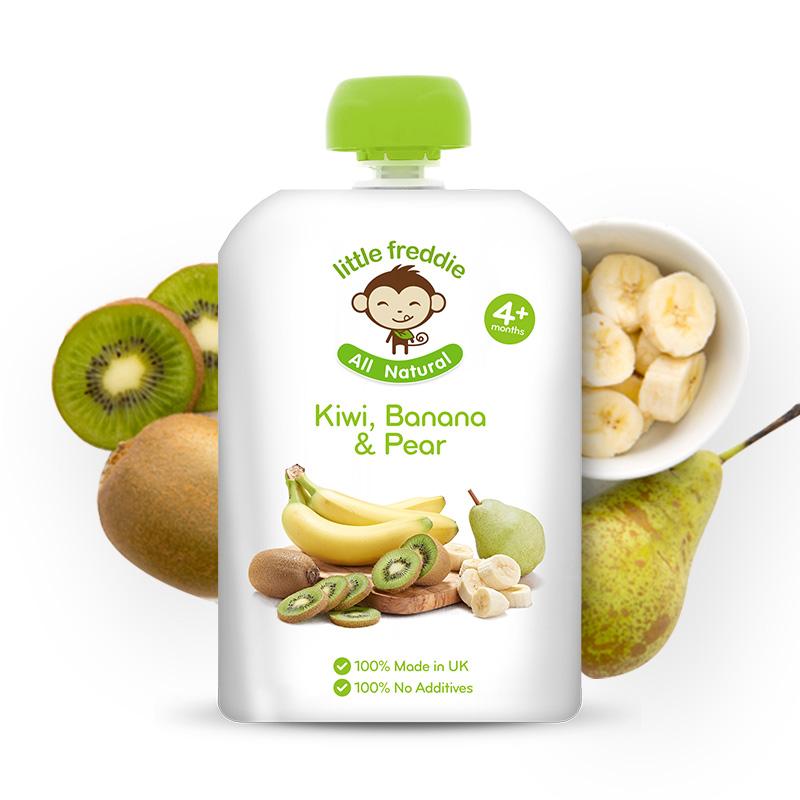 小皮--香蕉猕猴桃梨苹果泥90g