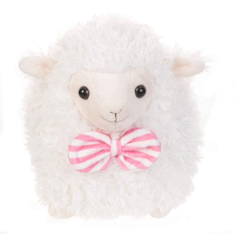 字母毛绒玩具玩偶小羊羔