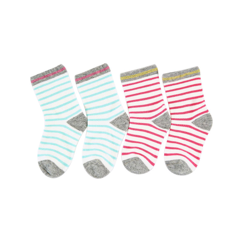歌瑞家基础系列平纹中袜(2双装)