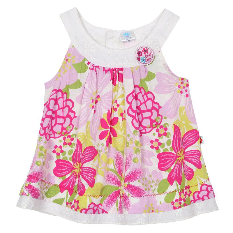 歌瑞贝儿A类女宝宝花色花朵小衫